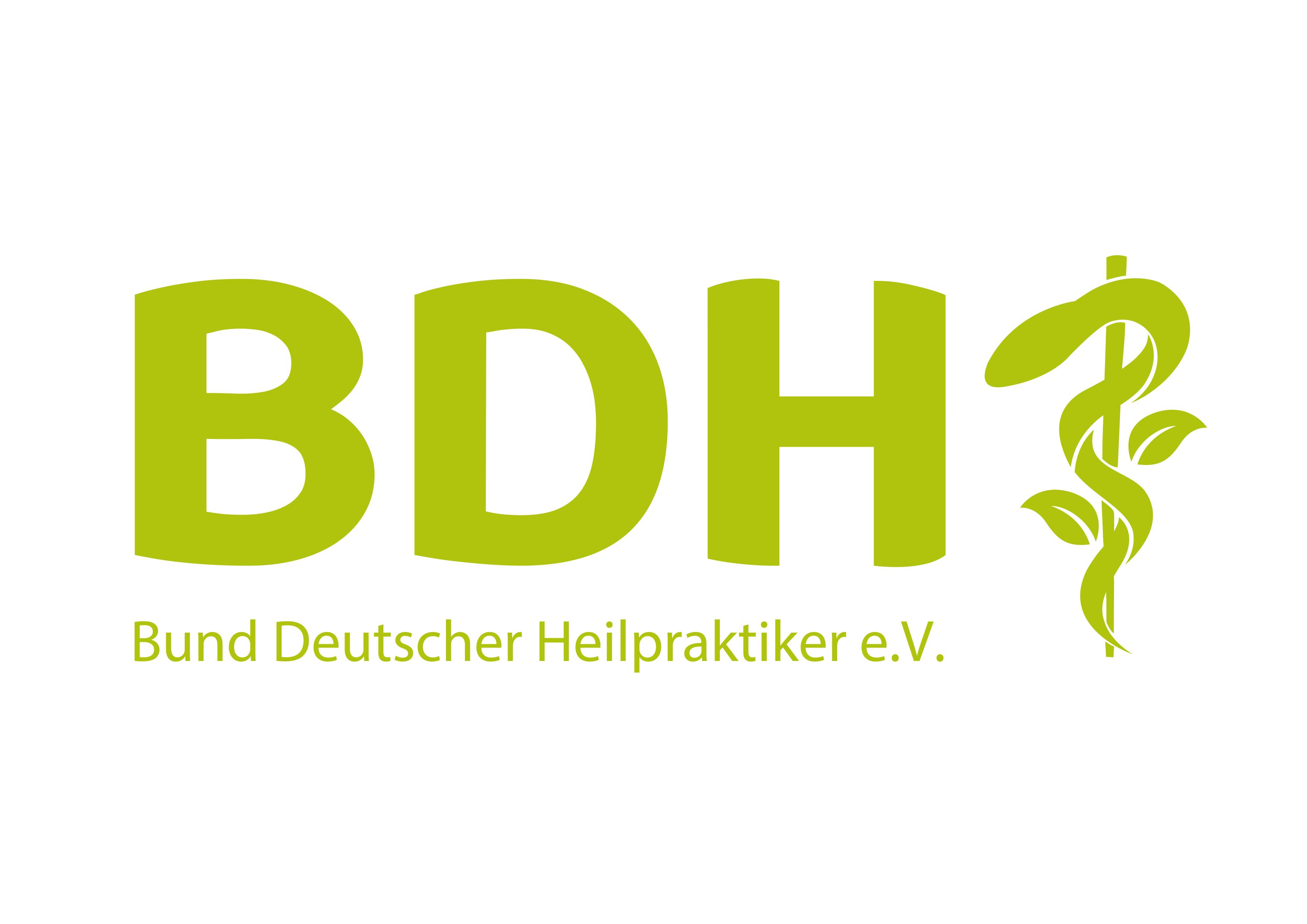 Mitglied im Bund Deutscher Heilpraktiker